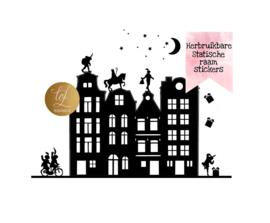 SINT & PIET GRACHTENPANDJES HERBRUIKBAAR