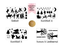 COMPLETE SET SINT & KERST HERBRUIKBAAR