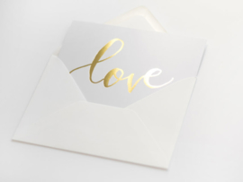 LOVE | GOUD FOLIE