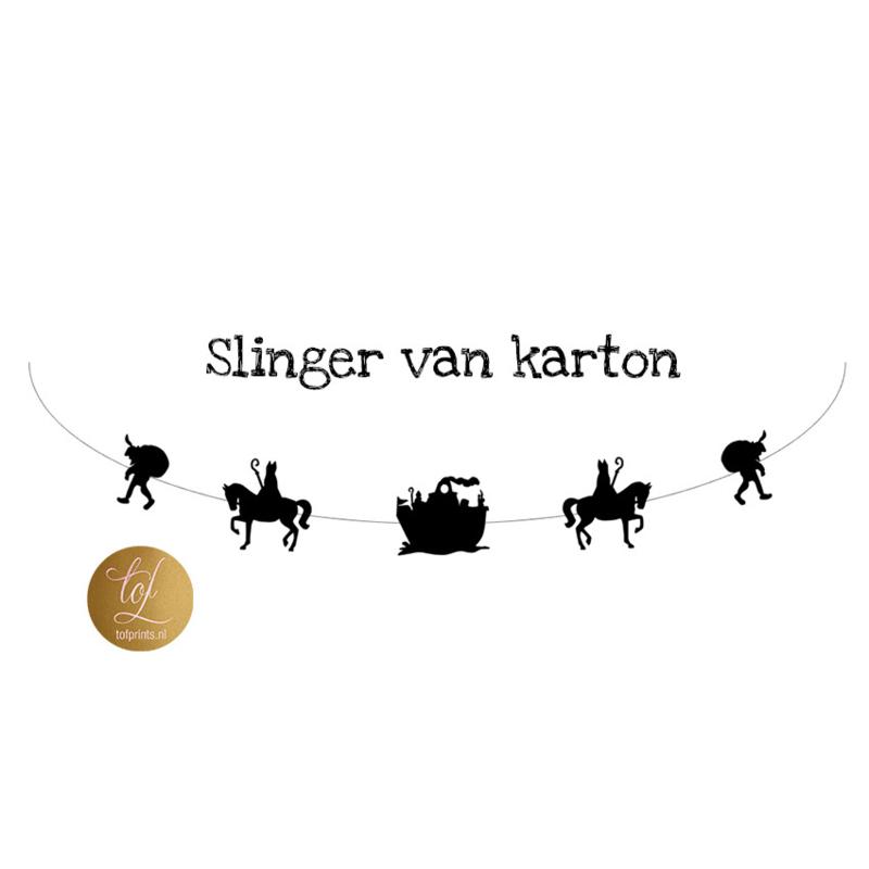 SLINGER KARTON STOOMBOOT