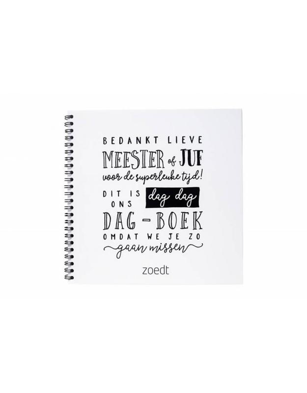 AFSCHEIDSBOEKJE JUF/MEESTER