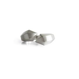 Silver Hexa ring double