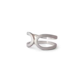 Zilveren ring Lussen