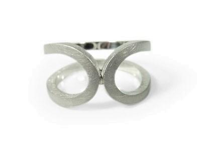 Zilveren ring Lobem
