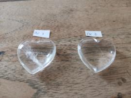 Bergkristal hart