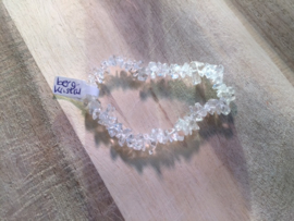 Bergkristal splitarmband