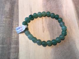 Aventurijn groen armband ronde kralen 8mm