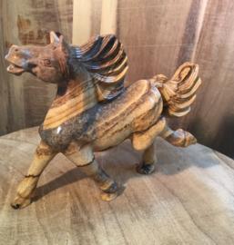 Jaspis landschap paard