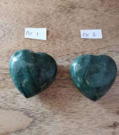 Aventurijn groen hart