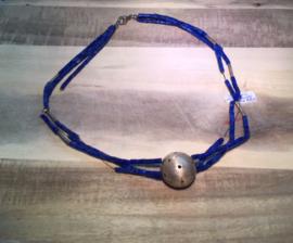 Lapis lazuli met bol