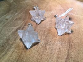 Bergkristal merkabah hanger