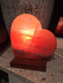 Zoutlamp hart