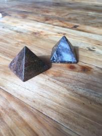 Bronziet piramide