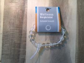Bergkristal armband uit de Wellness collectie
