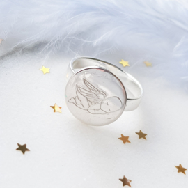 Sleeping Angel - ring