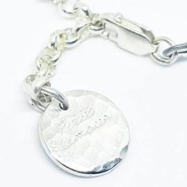 Zilveren toermalijn armand