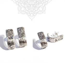 RUW Zilveren oorstekers