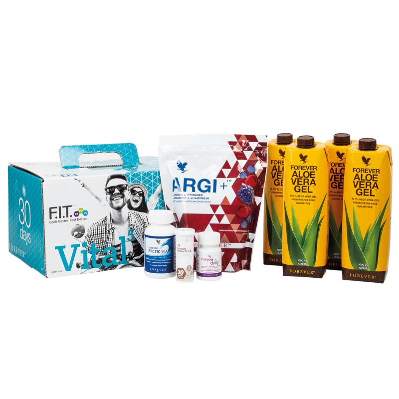 Vital5 Box Forever Aloe Vera Gel