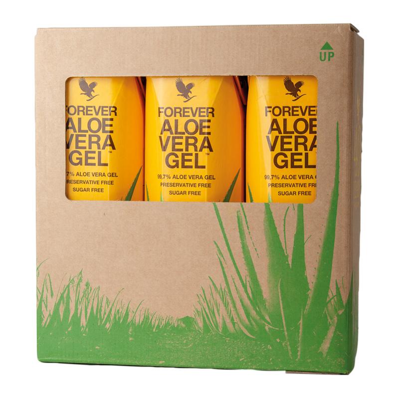 Forever Aloe Vera Gel 3 Pack