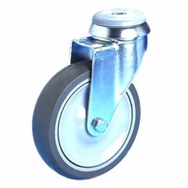 Manner zwenkwiel met rem  Ø 150 mm