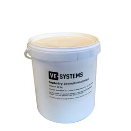 Septodry absorptiemateriaal, emmer van 10 Kg