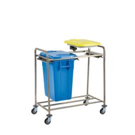 1-50 Liter container en 1-rings afvalzak