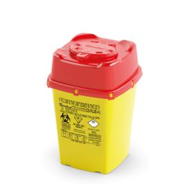 44 stuks Naaldencontainers CS Veiligheidsklep 4 Liter in 1 verpakking (Uw korting 10%)
