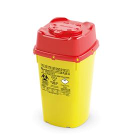 34 stuks Naaldencontainers CS Veiligheidsklep 5 Liter in 1 verpakking (Uw korting 10%)