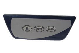 Remote panel, 850 serie, 2001+ (2 pompen)