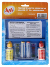 HTH testset vloeistof voor ph en chloor