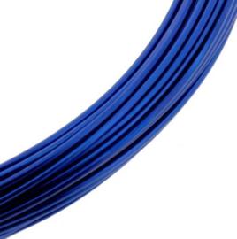 Aluminiumdraad 1 mm x 10 meter blauw