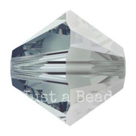 5328 biconische kraal 4 mm black diamond satin (215 SAT)