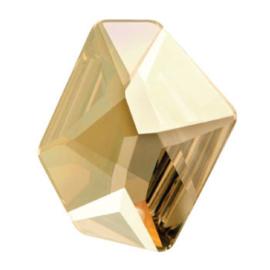 4759 Cosmic Flat Fancy Stone 28 x 24 mm Crystal Golden Shadow F (001 GSHA)
