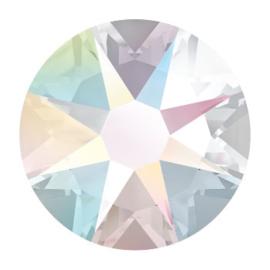 2088 plaksteen 7,2 mm / SS 34 Crystal AB F (001 AB)