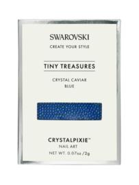 """Crystal Pixie """"Tiny Treasures"""" Crystal Caviar Blue"""