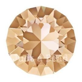 1028 Xilion Chaton puntsteen 4,00 mm / PP 32 Crystal golden shadow F (001 GSHA)