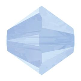 5328 biconische kraal 6 mm air blue opal (285)