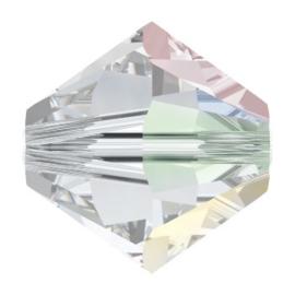 5328 biconische kraal 2,5 mm crystal AB (001 AB)