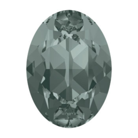 4120 Fancy Stone 8 x 6 mm Black Diamond F (215)