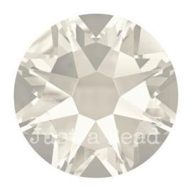2028 plaksteen 7,2 mm / SS 34 Crystal silver shade F (001 SSHA)