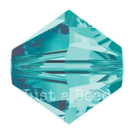 5328 biconische kraal 8 mm blue zircon (229)