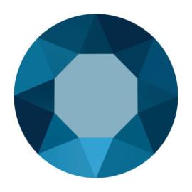 1122 rivoli 12mm puntsteen crystal metallic blue F (001 METBL)