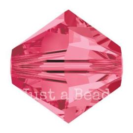 5328 biconische kraal 8 mm indian pink (289)