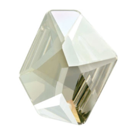 4759 Cosmic Flat Fancy Stone 28 x 24 mm Crystal Silver Shade F (001 SSHA)