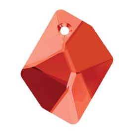 6680 Cosmic Pendant  40 x 32 mm crystal red magma (001 REDM)