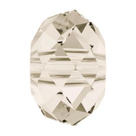 5041 kraal briolette 18 mm crystal silver shade (001 SSHA) (large hole)