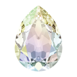 4320 Fancy Stone 14 x 10 mm Crystal AB F (001 AB)