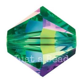 5328 biconische kraal 4 mm crystal vitrail medium (001 VM)