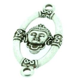 Decoratieve boei ovaal groot met buddha NMAS 59x27mm