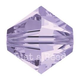 5328 biconische kraal 8 mm violet (371)